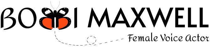 Bobbi Maxwell Female Voiceactor Branding Logo